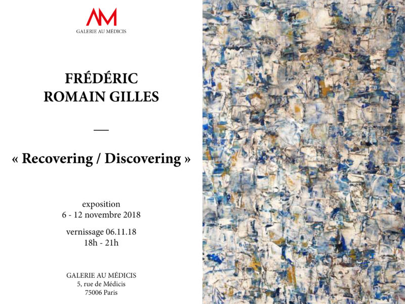 affiche_recovering-discovering Fréderic Romain Gilles