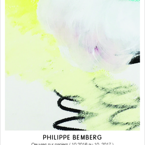 Affiche exposition Philippe Bemberg